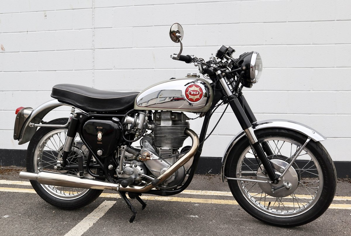1959 BSA DBD34 Gold Star 500cc - With Pearson Electric Start SOLD (picture 1 of 6)