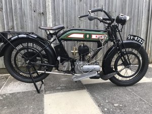 1926 BSA model H 557cc side valve