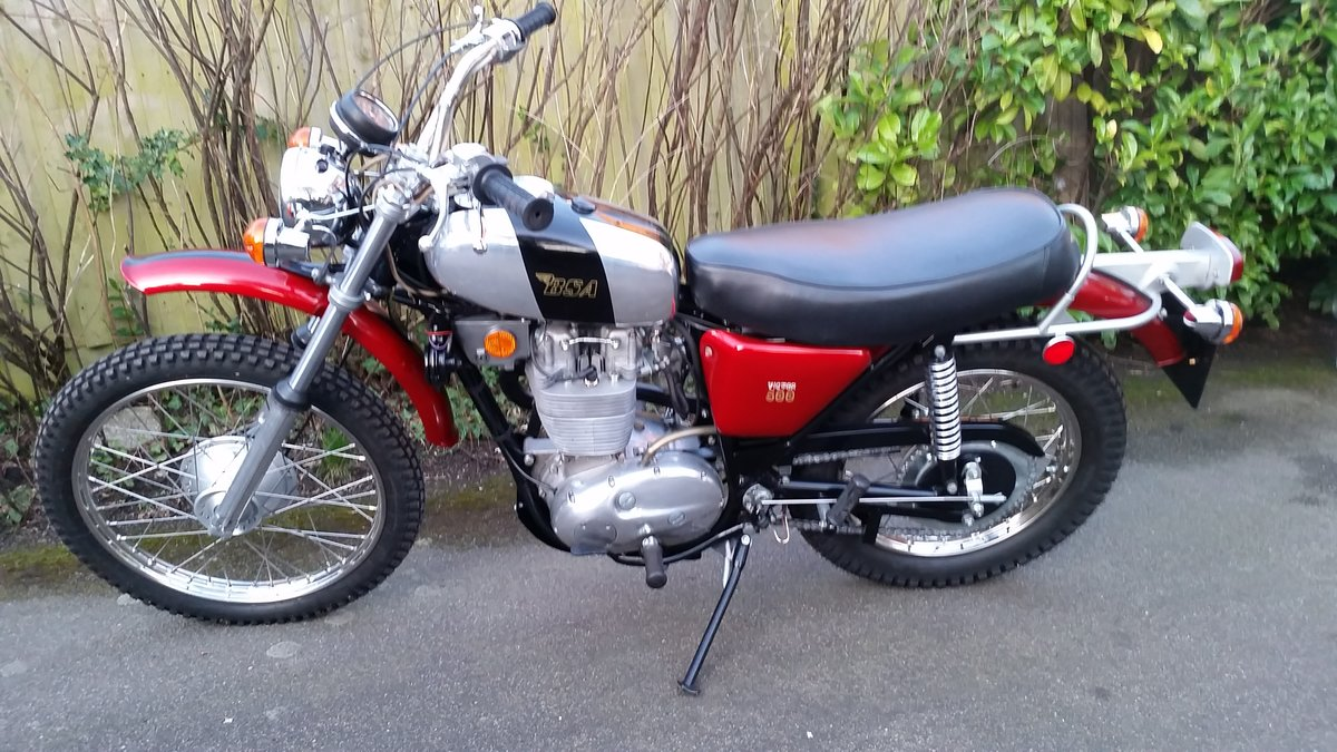 1971 BSA B50T 500cc Victor Single Fully Restored For Sale (picture 2 of 6)