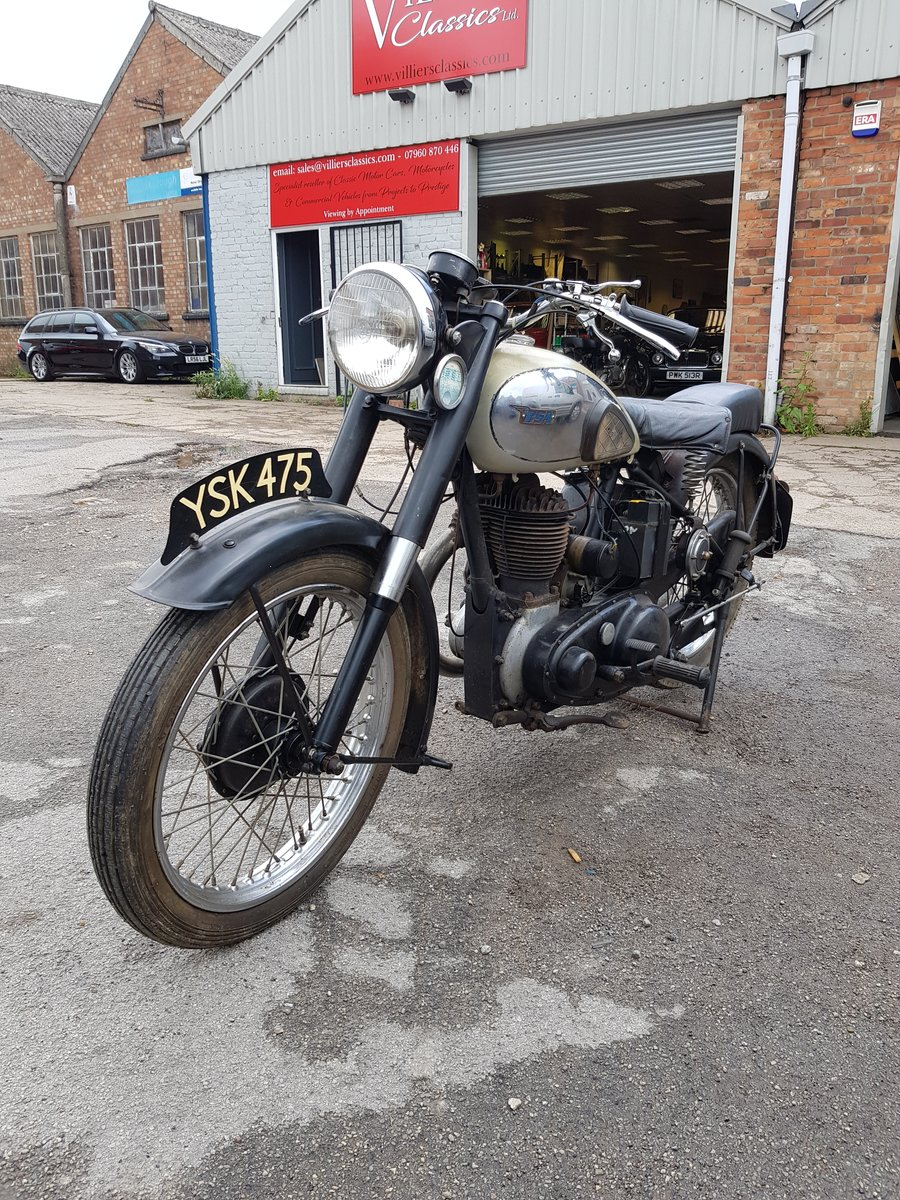 1947 M21 BSA 600cc Lovely original old bike For Sale (picture 1 of 2)