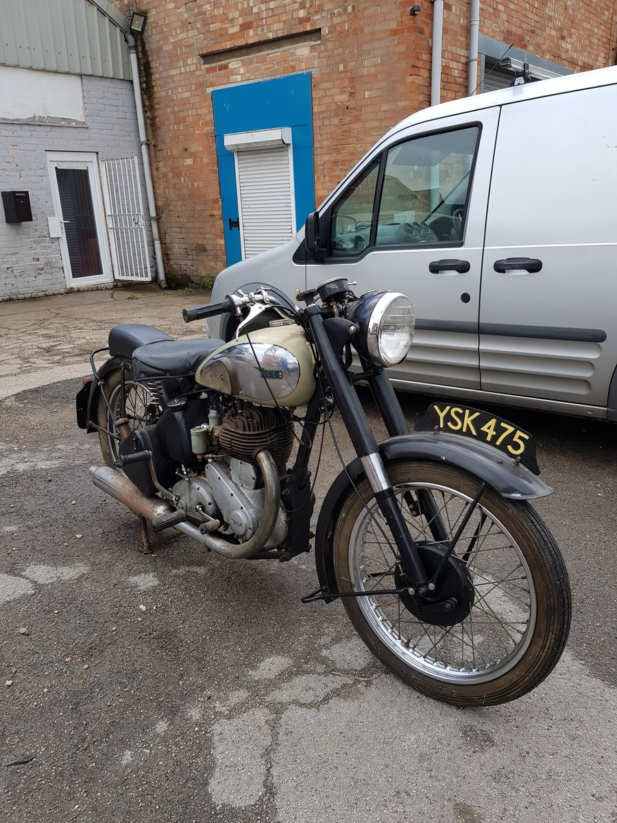 1947 M21 BSA 600cc Lovely original old bike For Sale (picture 2 of 2)