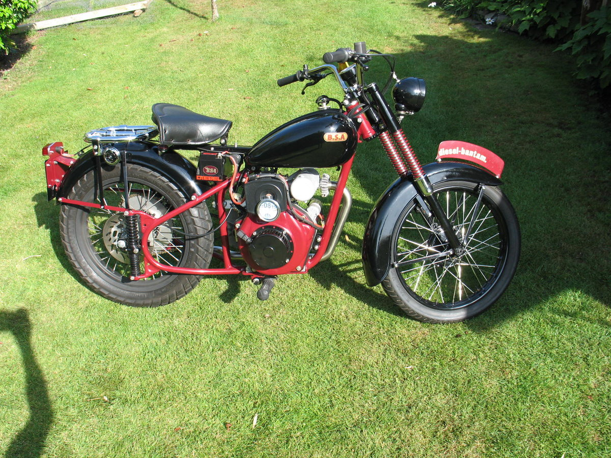 1952 BSA bantam d1 with  diesel engined For Sale (picture 2 of 6)