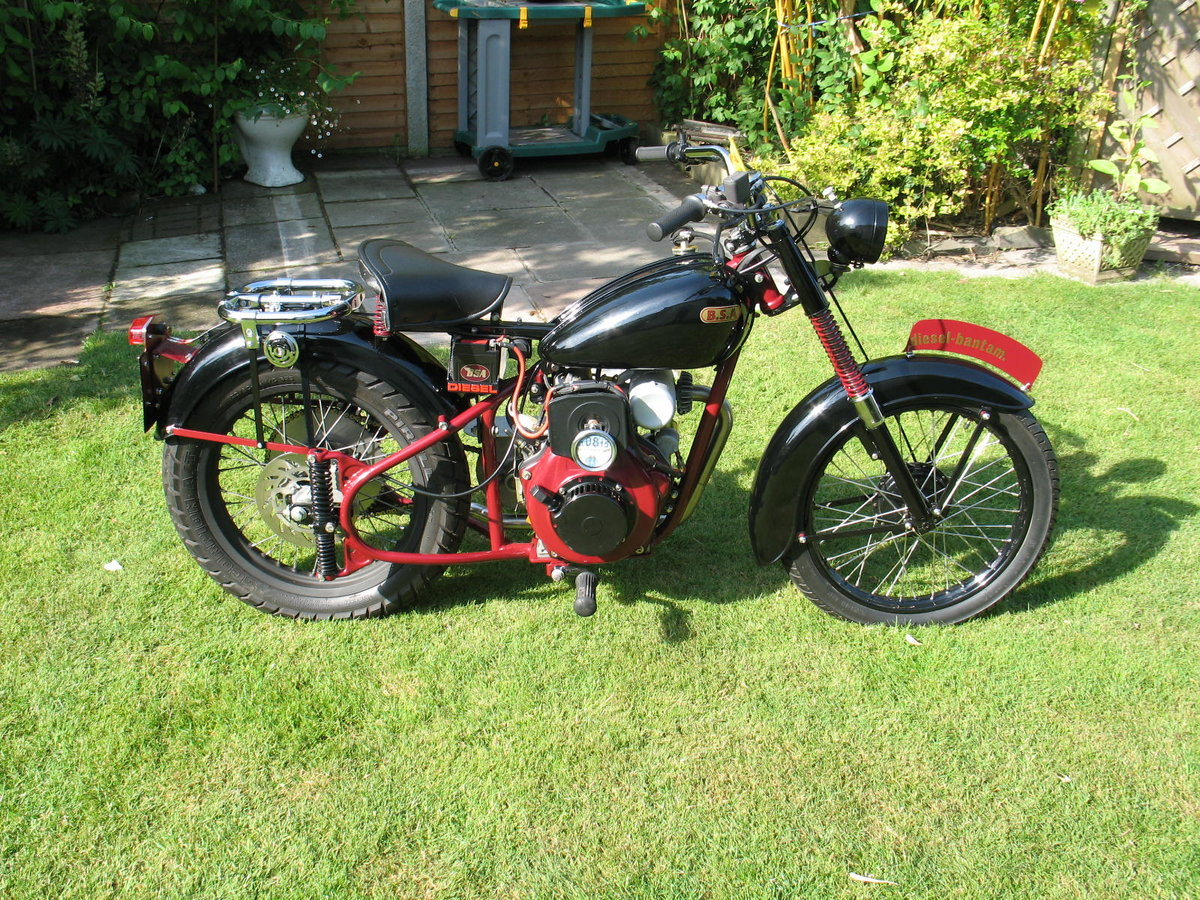 1952 BSA bantam d1 with  diesel engined For Sale (picture 3 of 6)