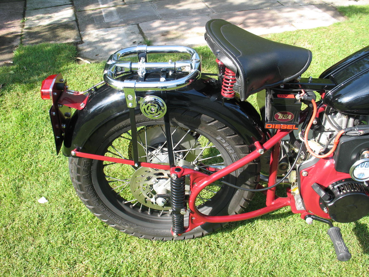 1952 BSA bantam d1 with  diesel engined For Sale (picture 4 of 6)