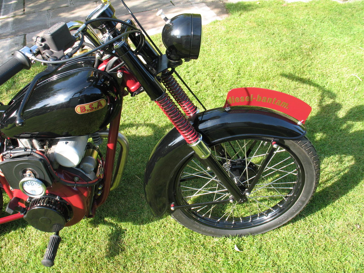 1952 BSA bantam d1 with  diesel engined For Sale (picture 5 of 6)