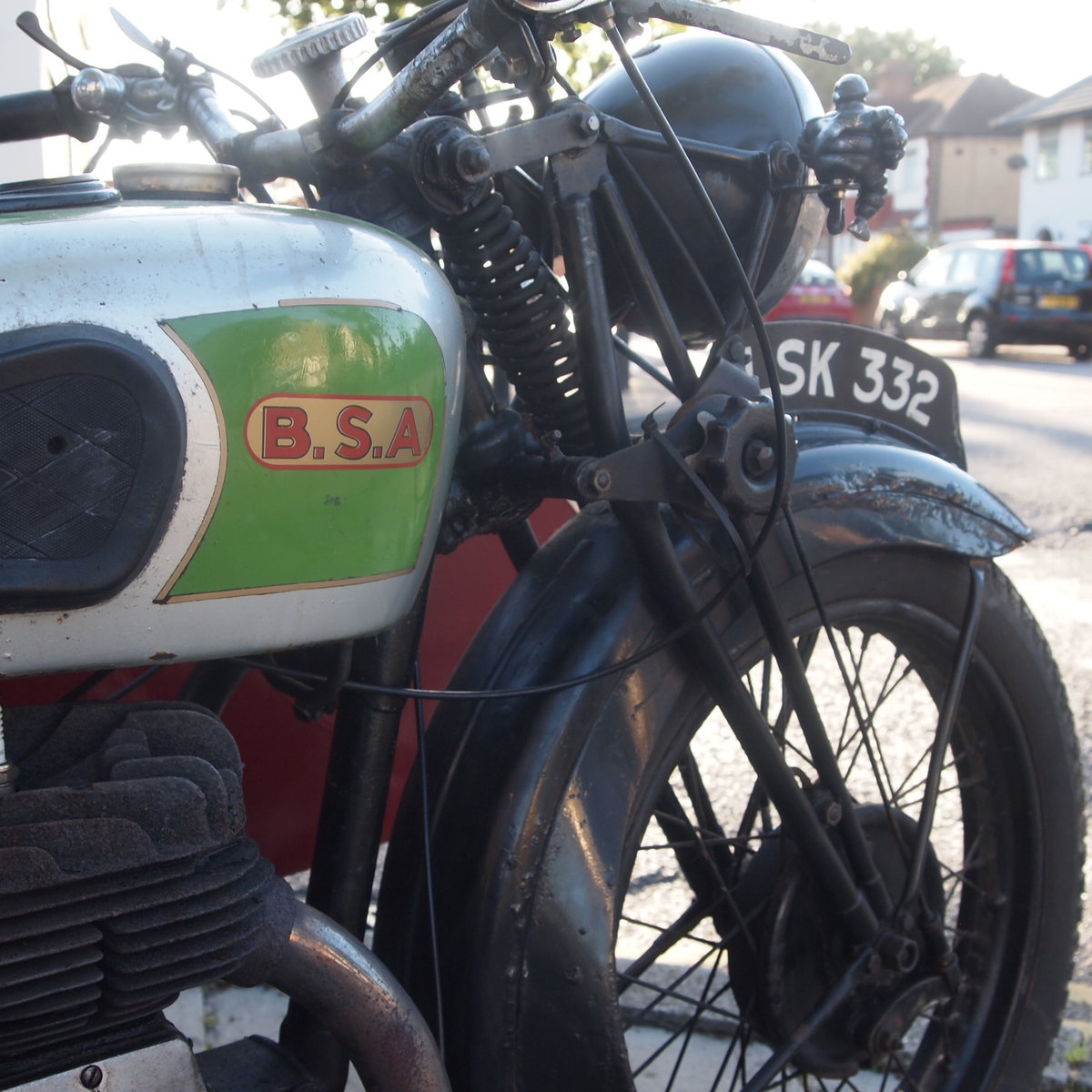 1939 BSA M20 Outfit In Beautiful Oily Rag Working Condition. For Sale (picture 3 of 6)