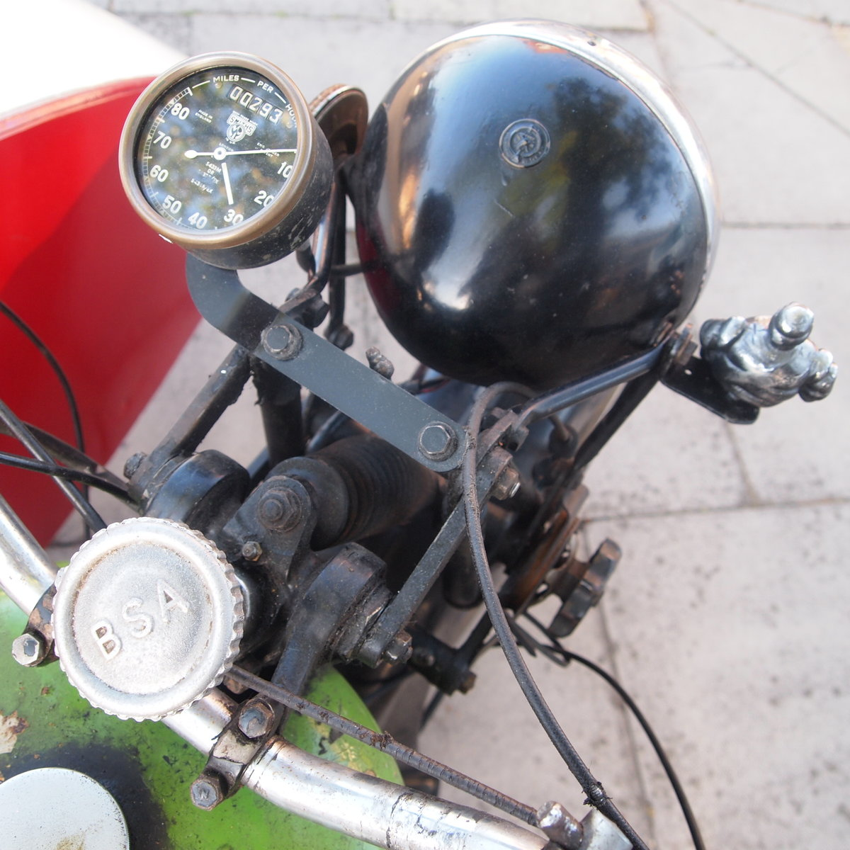 1939 BSA M20 Outfit In Beautiful Oily Rag Working Condition. For Sale (picture 5 of 6)