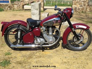 Picture of 1954 BSA B33 from