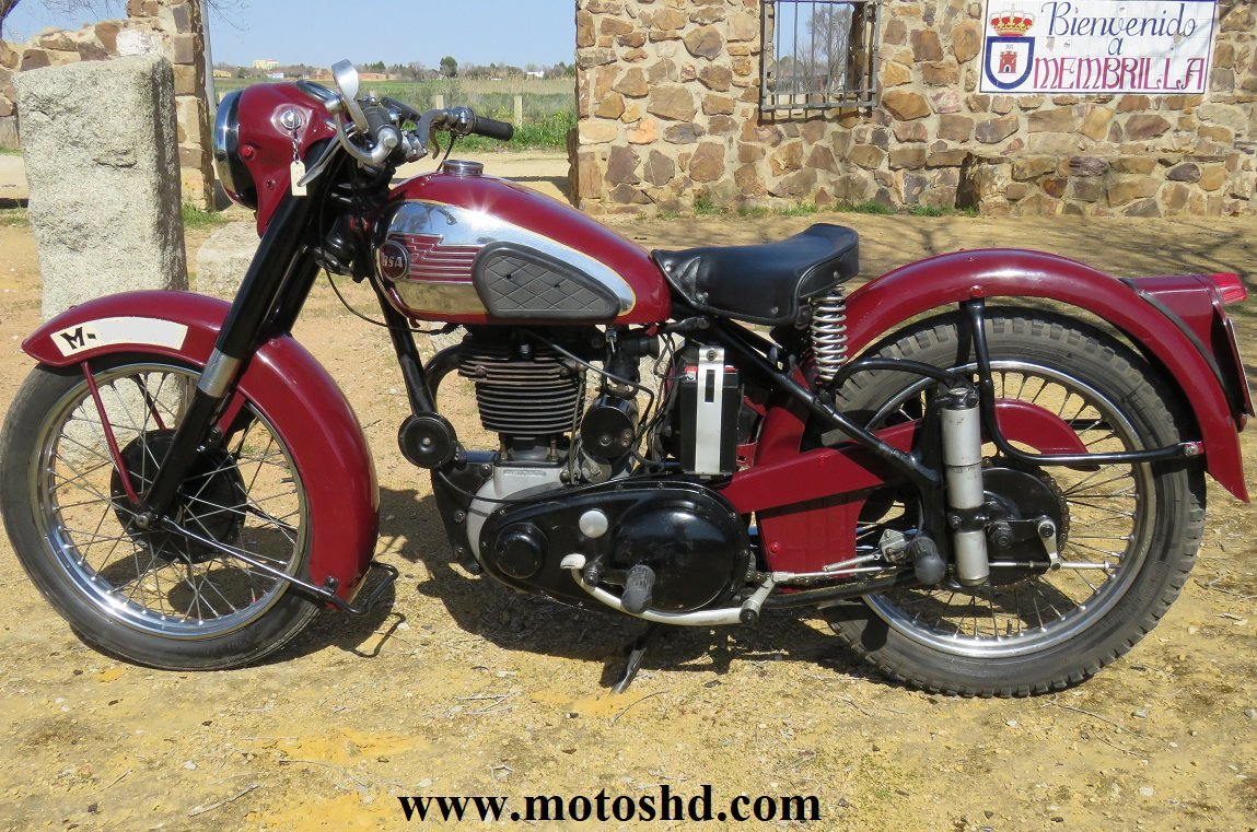 BSA B33 from 1954 For Sale (picture 3 of 6)