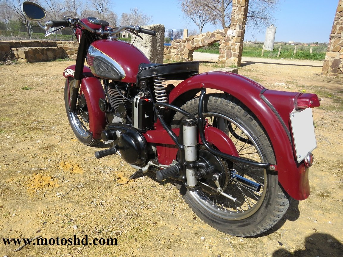 BSA B33 from 1954 For Sale (picture 4 of 6)