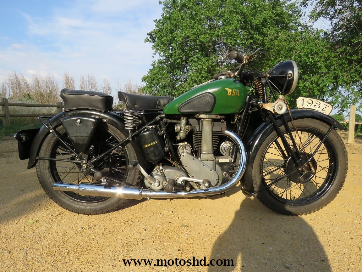 BSA M22 from 1937 For Sale (picture 1 of 6)