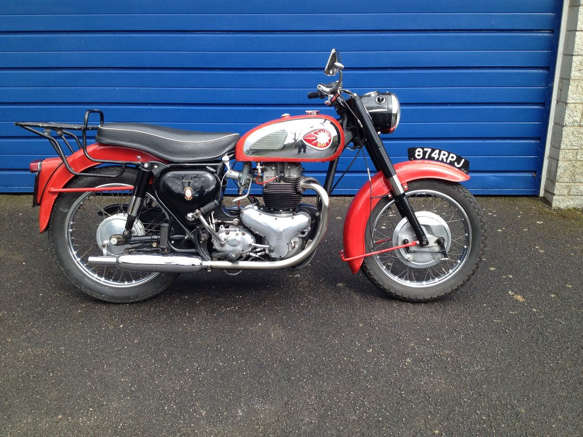 1960 BSA A10 Super Rocket  SOLD (picture 1 of 6)