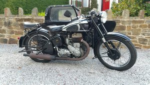 1952 BSA M21 600cc COMBINATION  LONG TERM OWNERSHIP