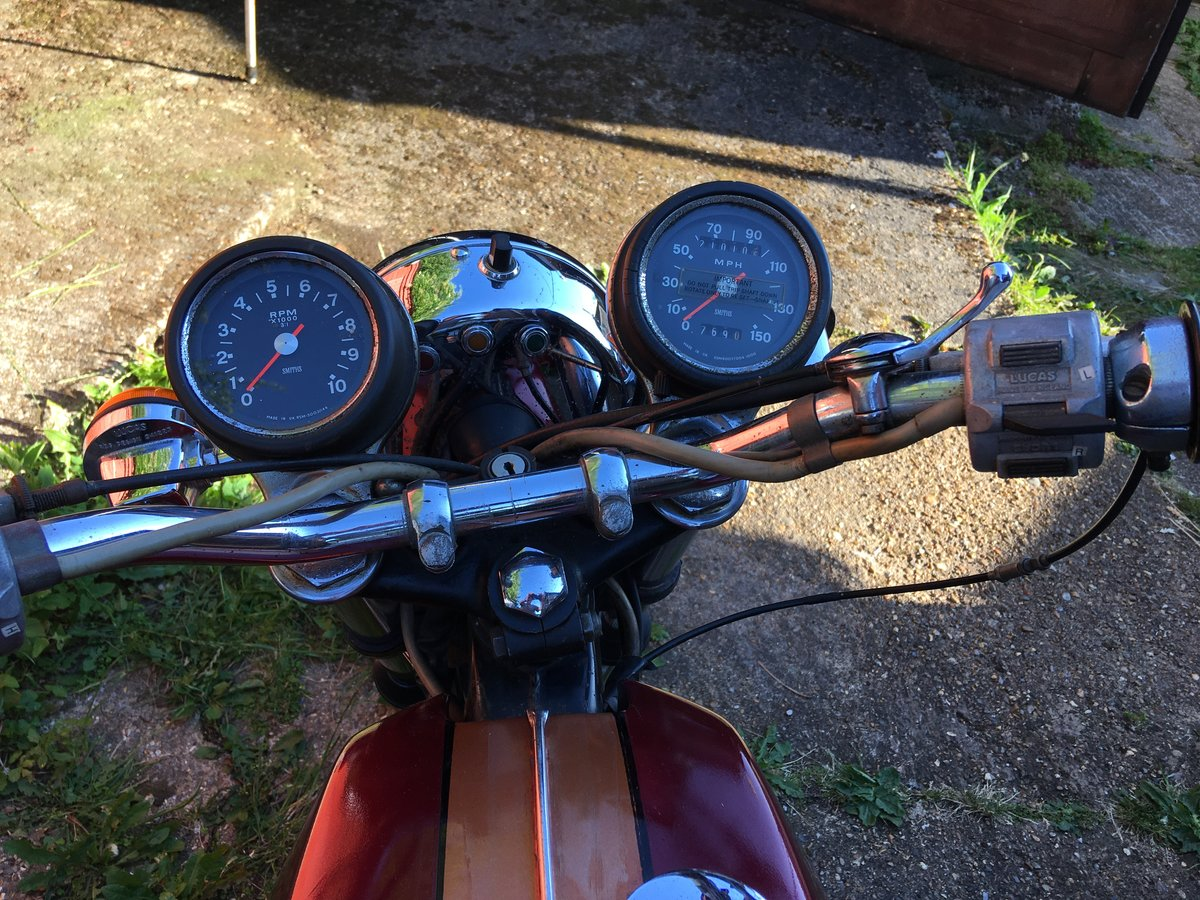1972 BSA a65 thunderbolt, uk bike 2 owners For Sale (picture 4 of 6)