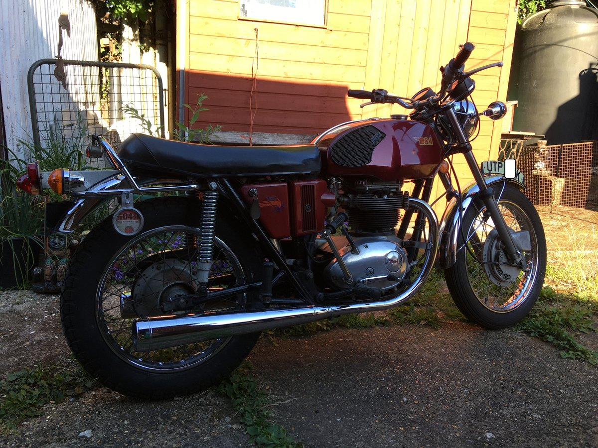 1972 BSA a65 thunderbolt, uk bike 2 owners For Sale (picture 3 of 6)