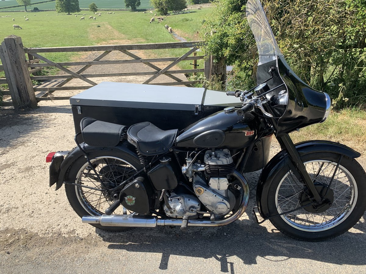 1952 Bsa M21 sidecar For Sale (picture 2 of 6)