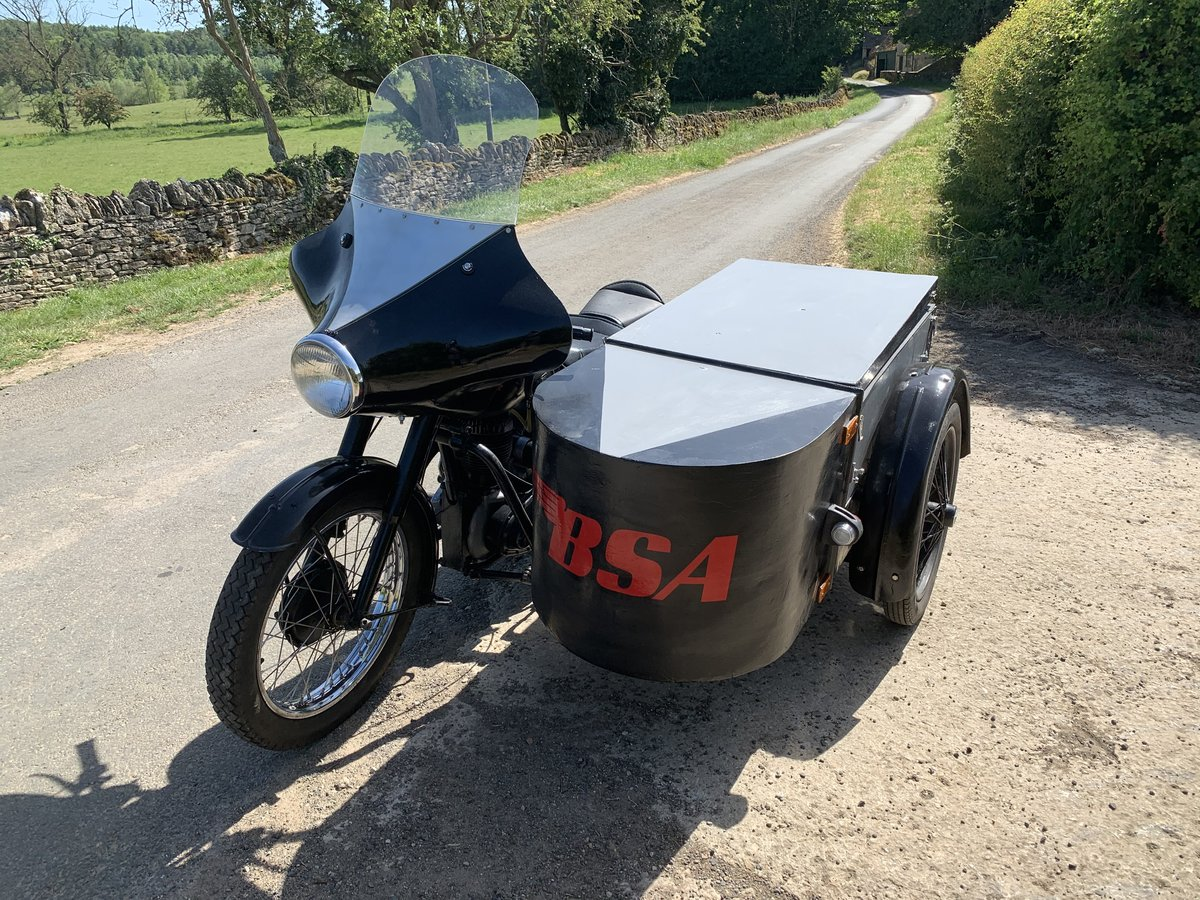 1952 Bsa M21 sidecar For Sale (picture 3 of 6)