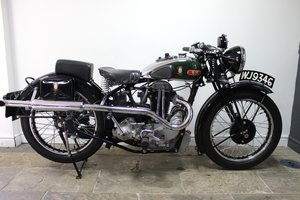 1934 BSA R34-350 cc Blue Star , Matching numbers  SOLD