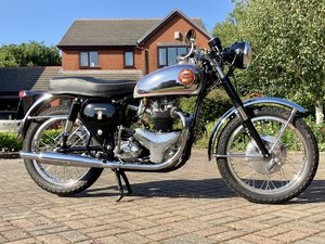 BSA A10 Rocket Gold Star replica