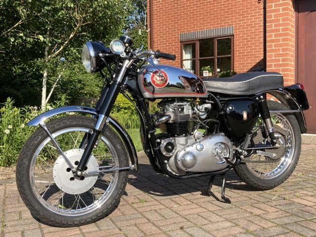 1957 BSA A10 Rocket Gold Star replica For Sale (picture 2 of 6)