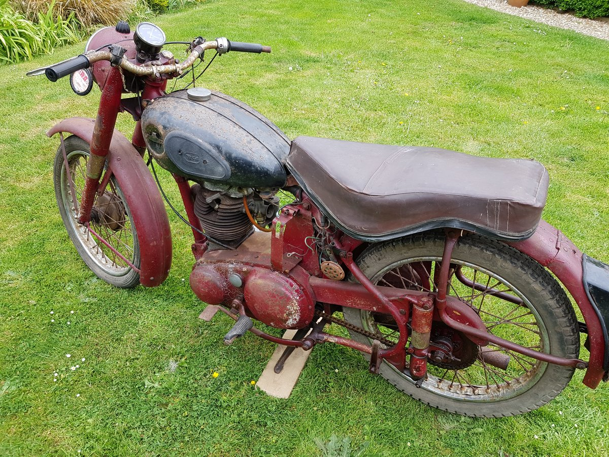 1954 BSA 250cc C11 G For Sale (picture 3 of 3)