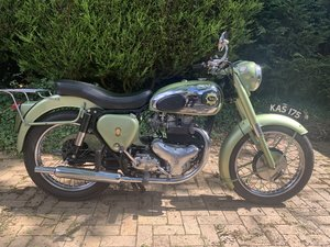 1955  BSA A7 Shooting Star