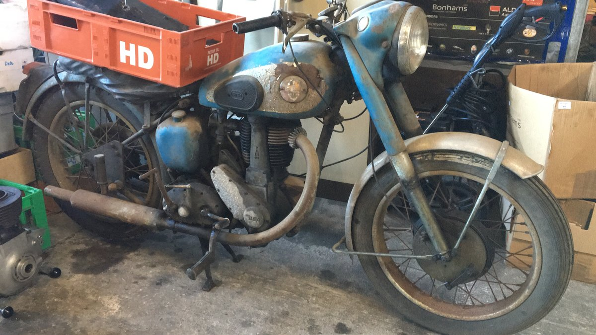 1954 Bsa B33 500cc For Sale (picture 4 of 4)