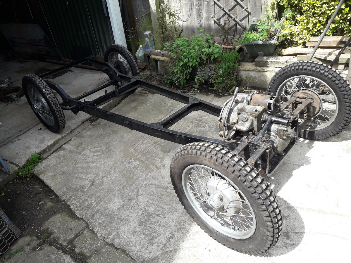 1937 BSA SCOUT V5c FOR COMPLETE RESTORATION  For Sale (picture 2 of 6)