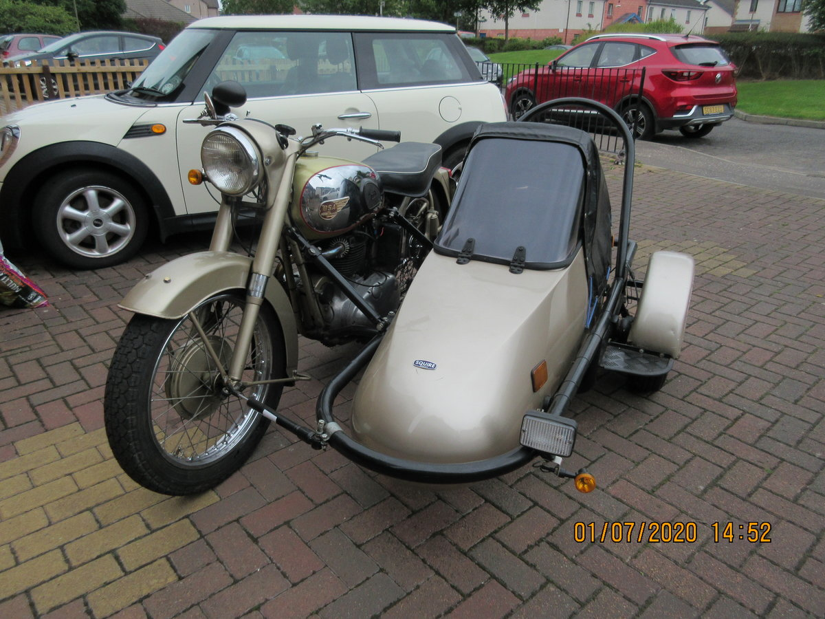 1956 Golden Flash Motorbike & sidecar SOLD (picture 4 of 6)