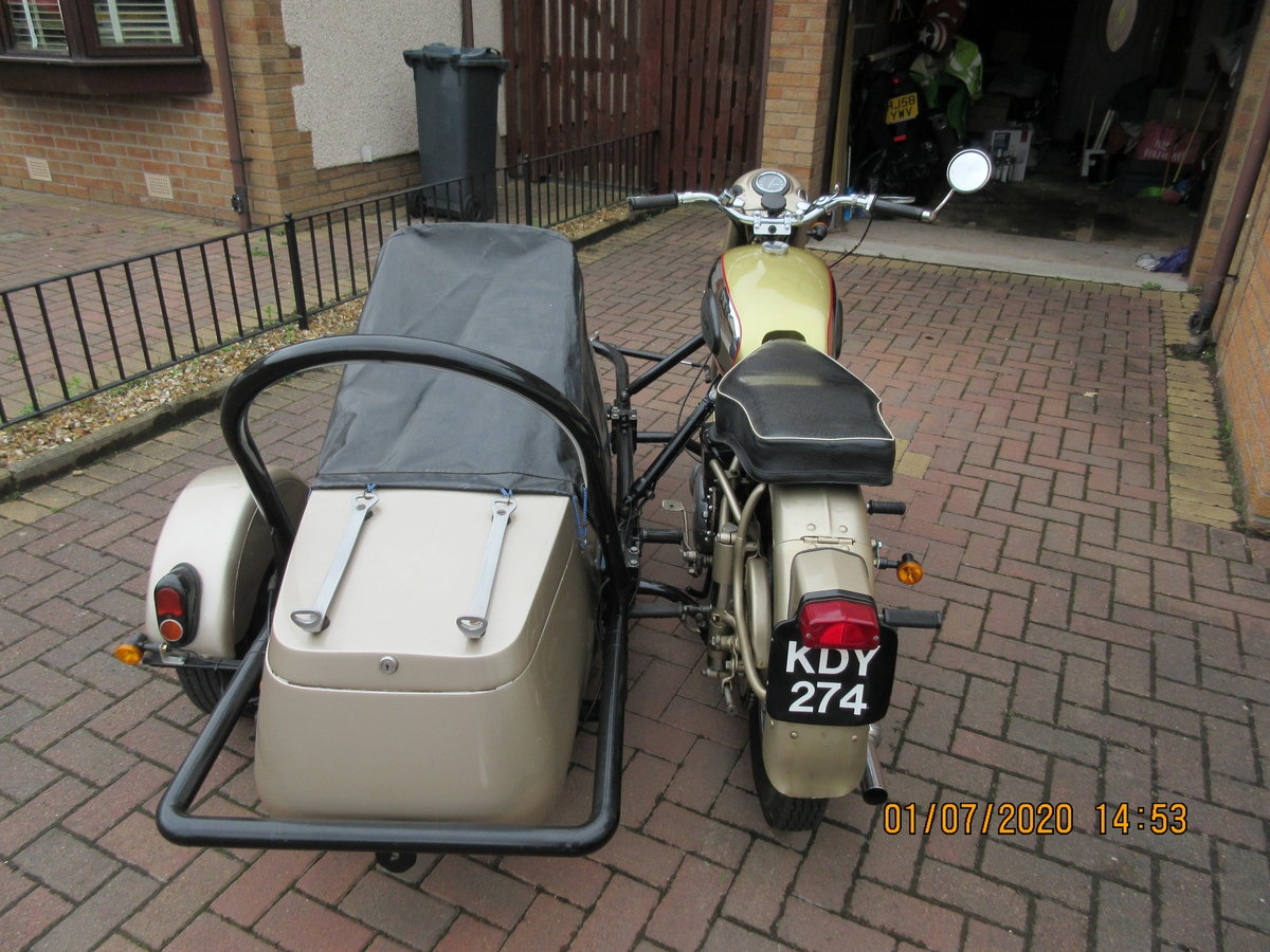 1956 Golden Flash Motorbike & sidecar SOLD (picture 6 of 6)