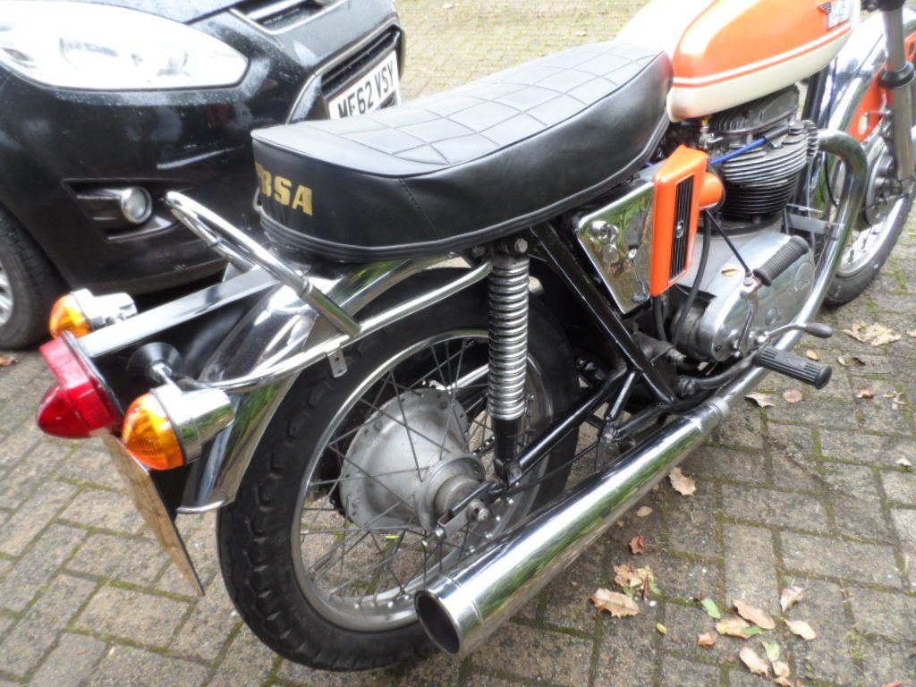 1971 BSA A65 SOLD (picture 2 of 5)