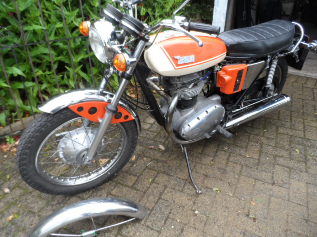 1971 BSA A65 SOLD (picture 4 of 5)