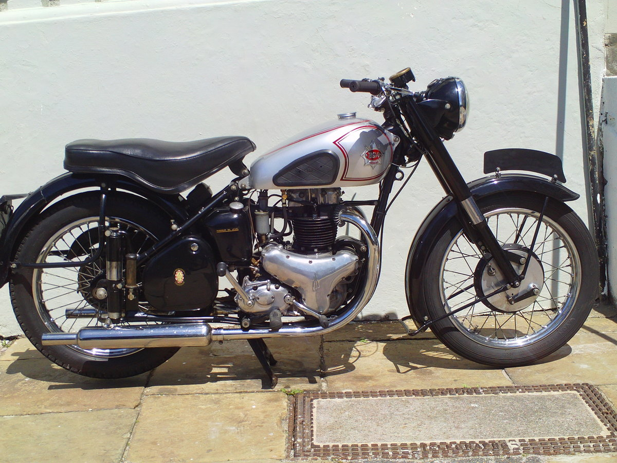 1952 BSA A7 STAR TWIN PLUNGER SOLD (picture 1 of 6)