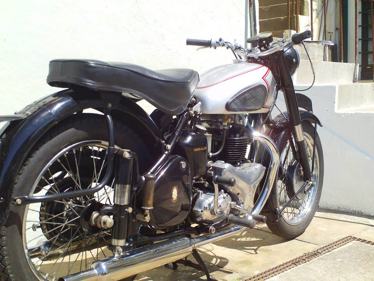 1952 BSA A7 STAR TWIN PLUNGER SOLD (picture 2 of 6)