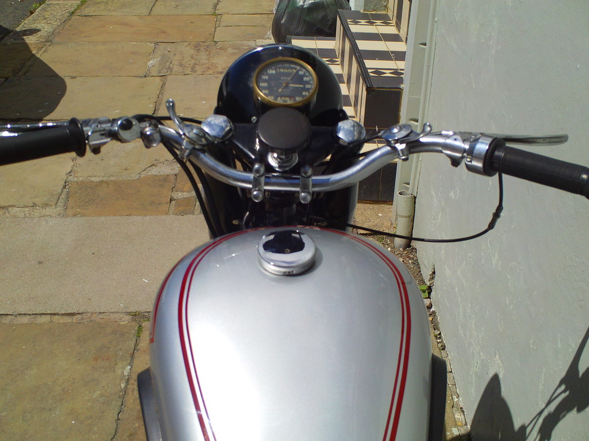 1952 BSA A7 STAR TWIN PLUNGER SOLD (picture 5 of 6)