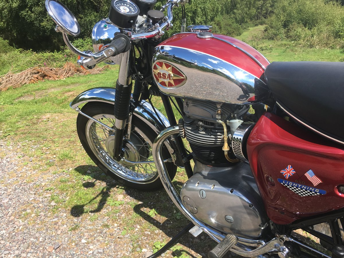 1968 A65 Lightning outstanding restored condition For Sale (picture 6 of 6)