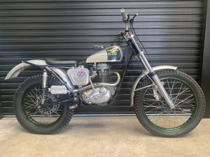 c.1960 BSA B40 Trials