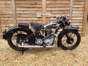 1932 BSA 350cc twin port