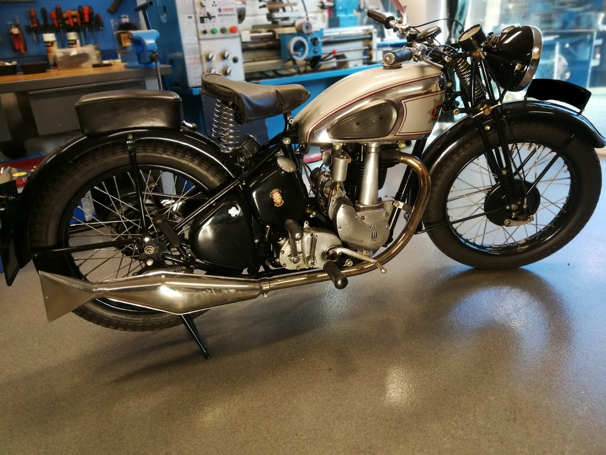 1939 BSA Silverstar. Matching #s. Mint condition. For Sale (picture 1 of 4)