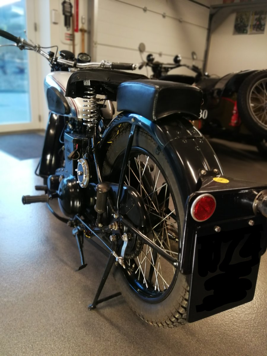 1939 BSA Silverstar. Matching #s. Mint condition. For Sale (picture 3 of 4)