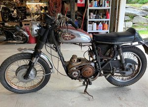1969 BSA A65 Thunderbolt Project Bike