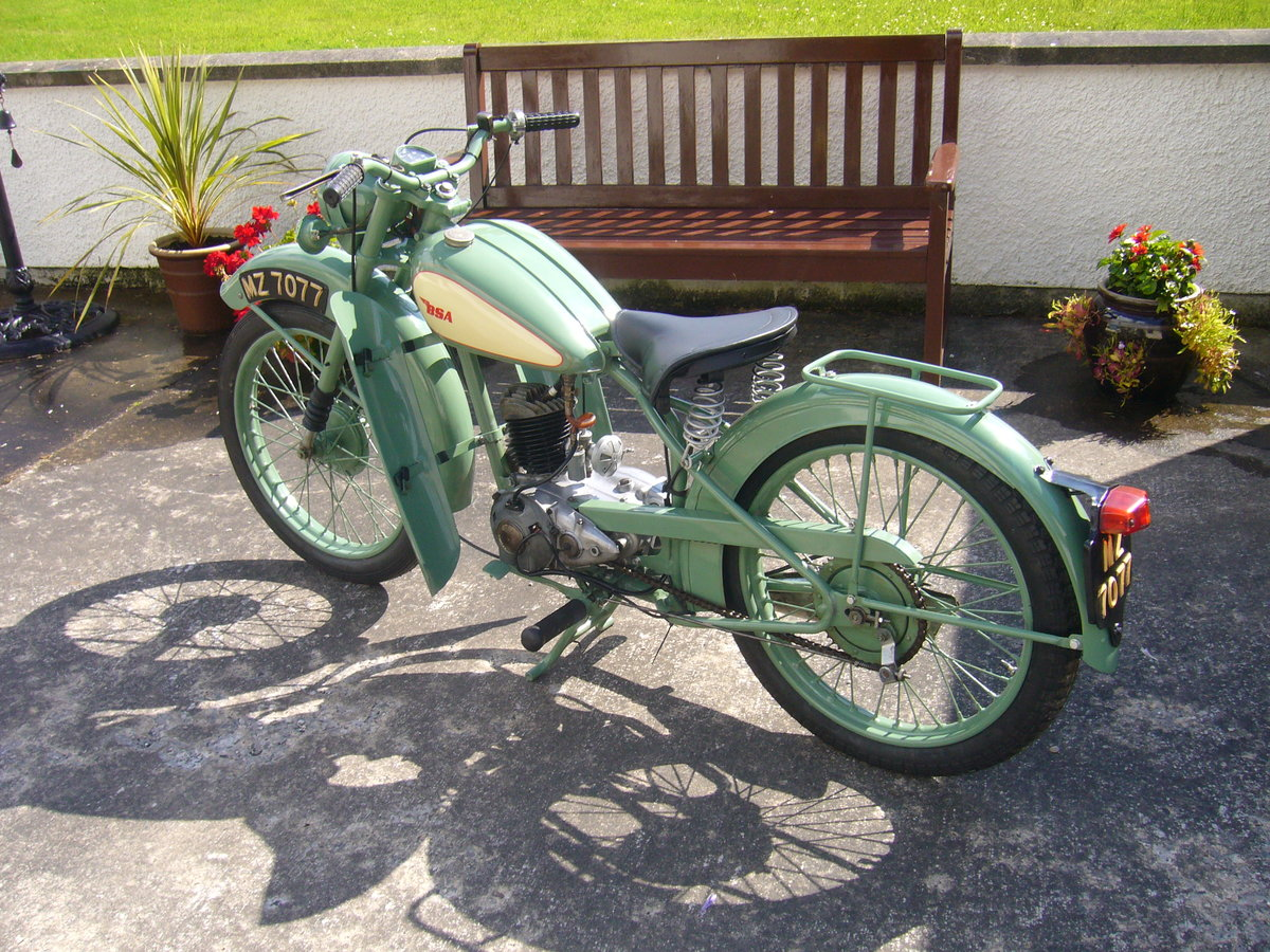 1949 classic bsa d1 bantam For Sale (picture 1 of 4)