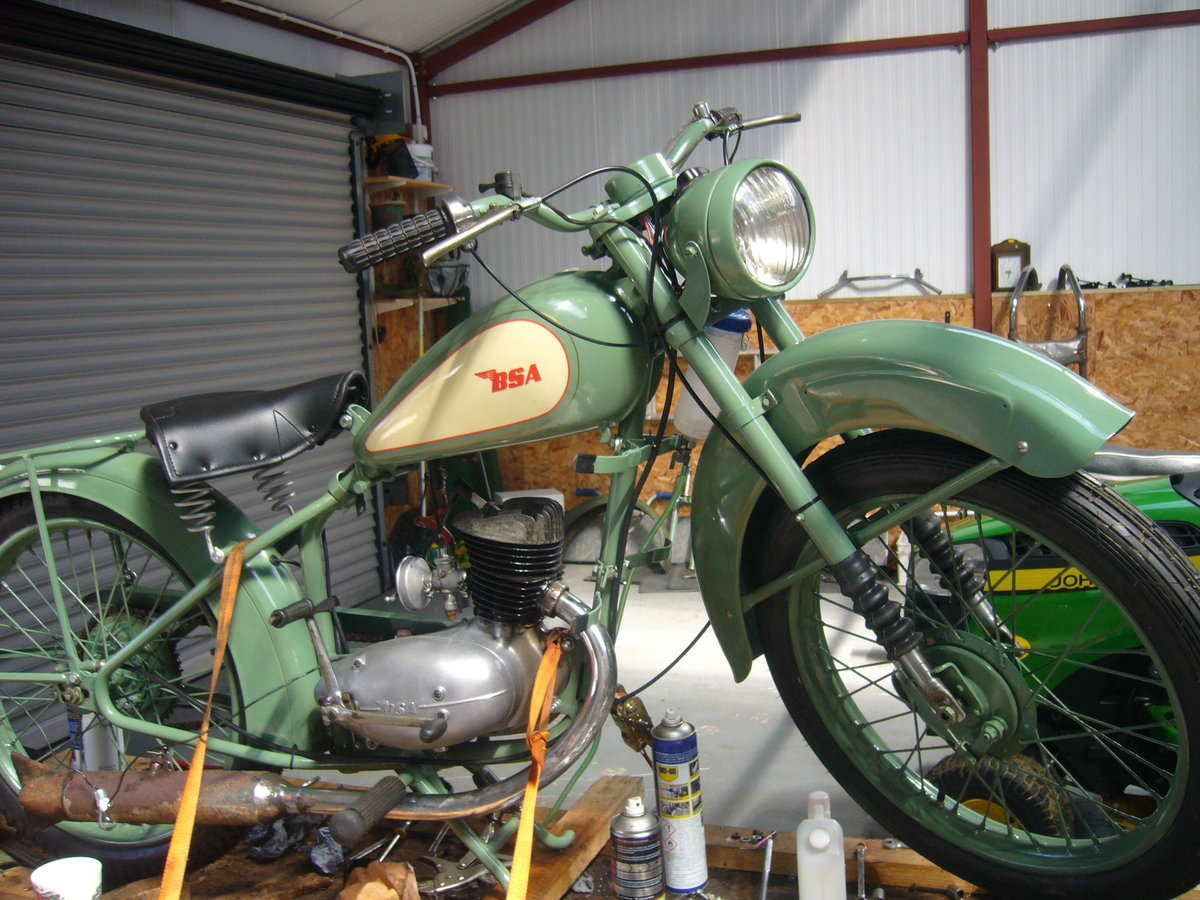 1949 classic bsa d1 bantam For Sale (picture 2 of 4)