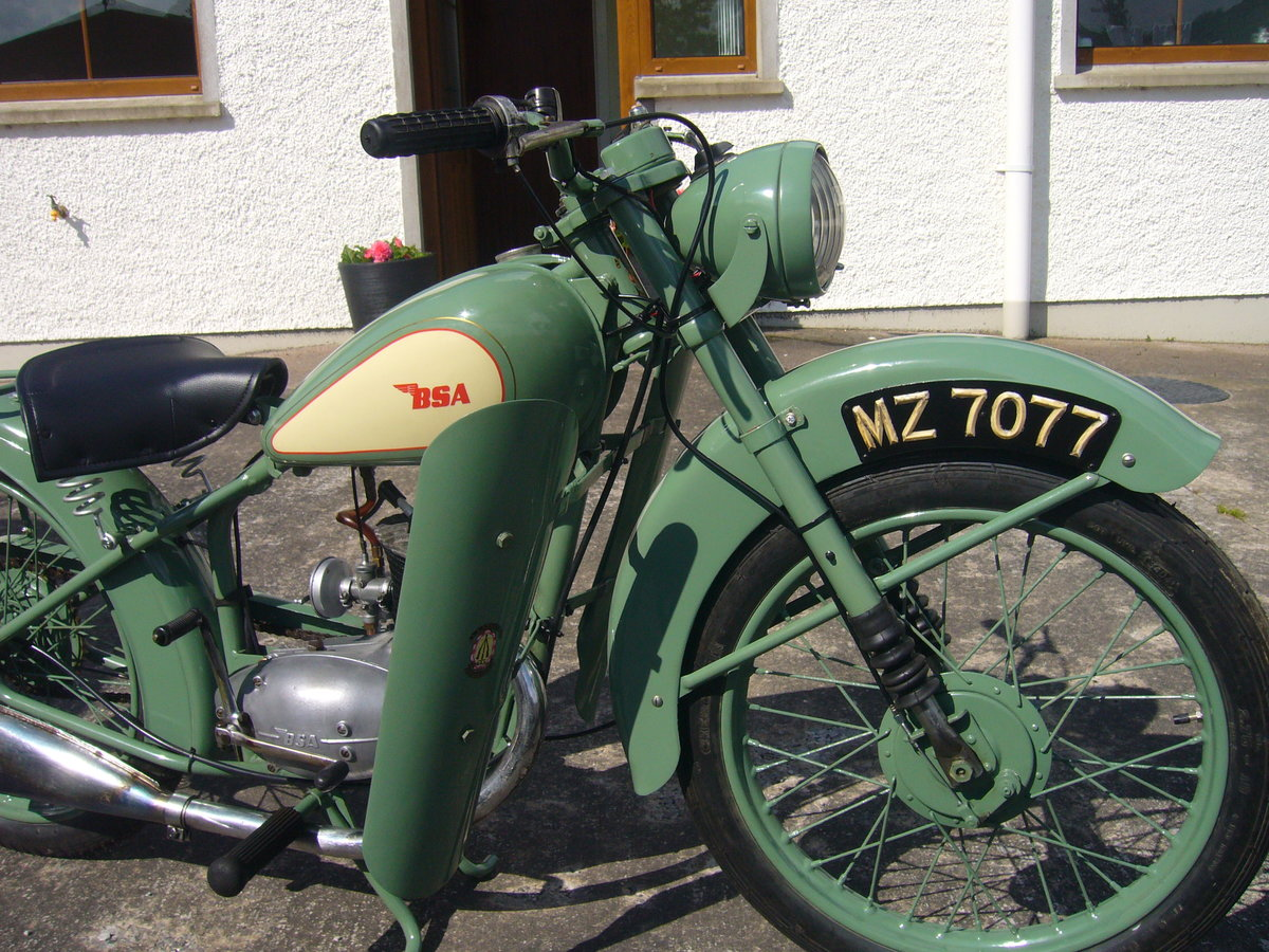 1949 classic bsa d1 bantam For Sale (picture 3 of 4)