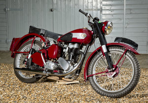 BSA C11 -super little bike