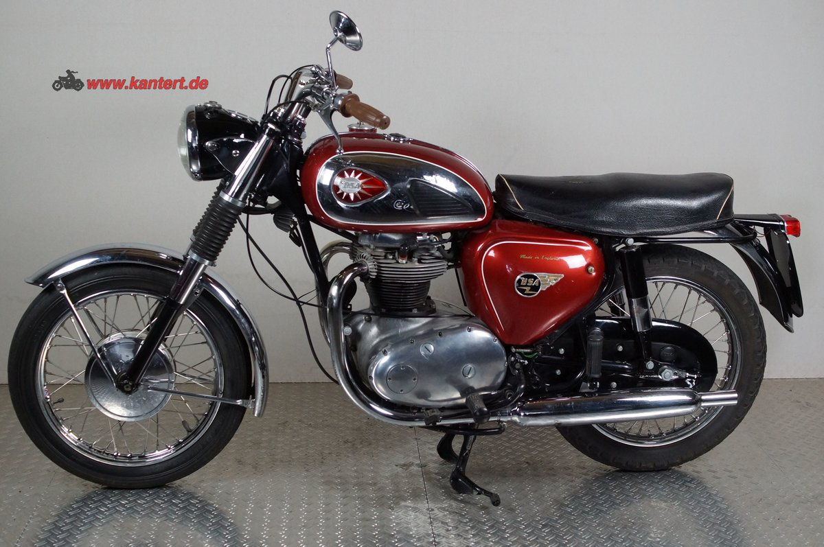 1964 BSA A 65 Rocket, 654 cc, 38 hp For Sale (picture 1 of 6)