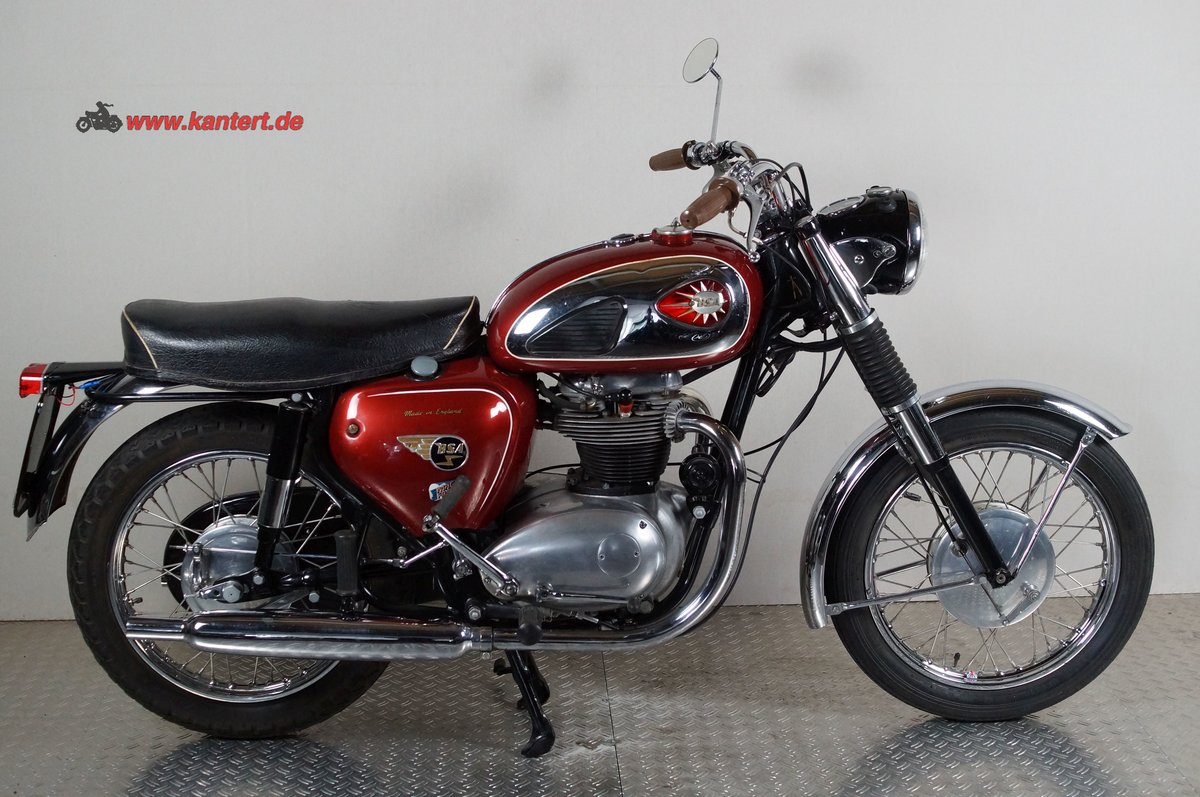 1964 BSA A 65 Rocket, 654 cc, 38 hp For Sale (picture 2 of 6)