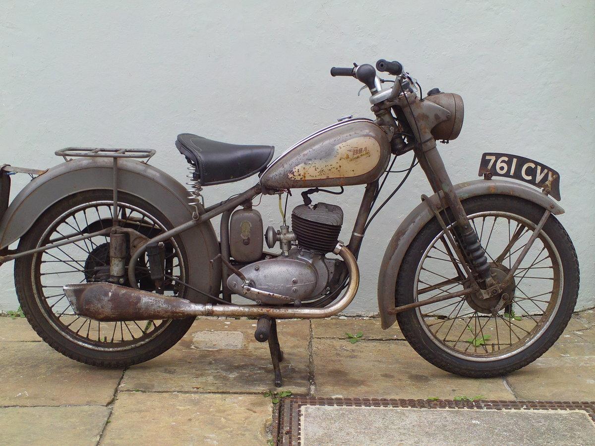 1953 BSA BANTAM D3 SOLD (picture 1 of 5)