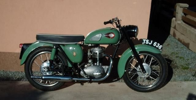 1960 BSA 247CC C15 (LOT 307) SOLD by Auction (picture 1 of 1)