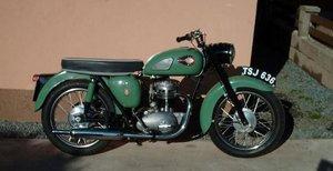 1960 BSA 247CC C15 (LOT 307)